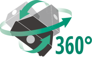 360 degree Logo