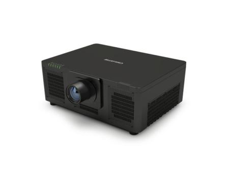 Schwarzer Laserprojektor Frontansicht