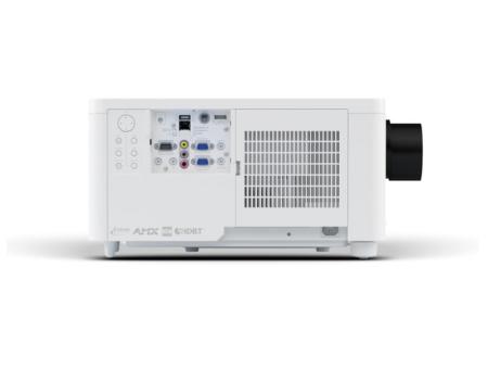 Weißer LCD Laser Projektor Seitenansicht