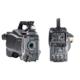 Professionelle Videokamera von vorne und von hinten